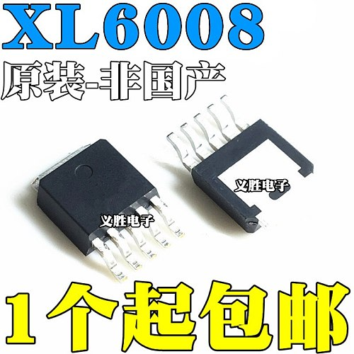 5pcs/lot XL6008E1 XL6008 DC-DCIC TO-252-5L In Stock