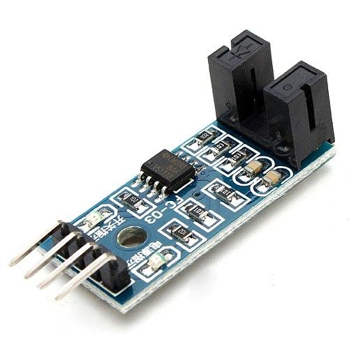 Glyduino Speed Measuring Sensor Module Counter Module Motor Test Module Slot Type Optical Coupling Module