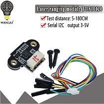ToF10120 Laser Range Sensor Module 10-180cm Distance Sensor RS232 Interface Arduino TOF05140 UART I2C Output 3-5V