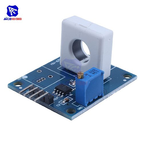 diymore WCS1800 DC 5V Hall Current Detection Sensor Module 35A Short Circuit Overcurrent Protection Module