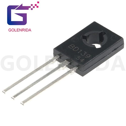 100PCS BD139 TO126 TO-126 new  voltage regulator