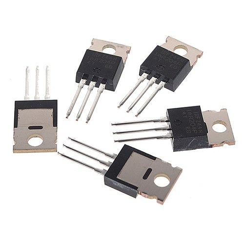 Hot Sale Newest 5Pcs IRFZ44N IRFZ44 N-Channel 49A 55V Transistor MOSFET Component TO-220 Power Best Price