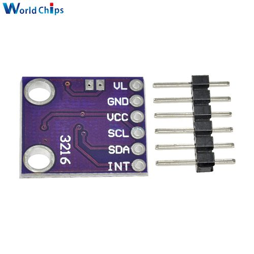 CJMCU-3216 AP3216 ALS/PS Digital Ambient Light Sensor Proximity Distance Sensor Module Light Detection Photosensitive Sensor DIY