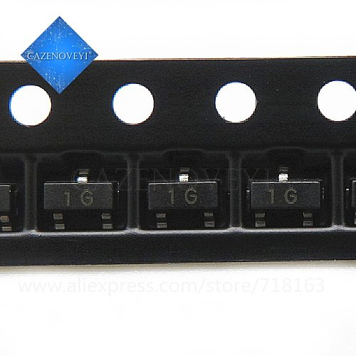 100pcs/lot BC847C SOT-23 BC847 847C SOT SMD SOT-23 1G In Stock