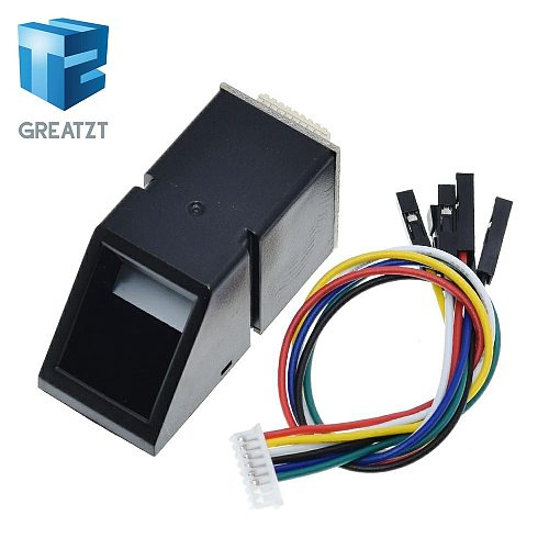 AS608 Fingerprint Reader Sensor Module Optical Fingerprint Fingerprint Module For Arduino Locks Serial Communication Interface