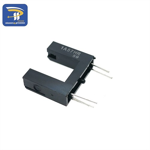 1A57HR GP1A57HRJ00F PHOTOINTER OPIC SLOT 10MM PCB Optical Sensors - Photointerrupters - Slot Type - Logic Output