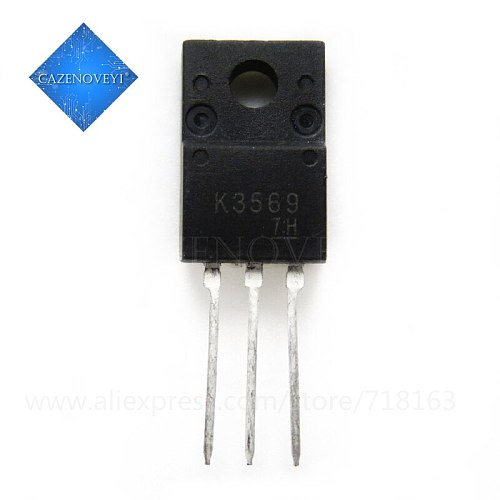 10pcs/lot 2SK3569 K3569 TO-220F In Stock