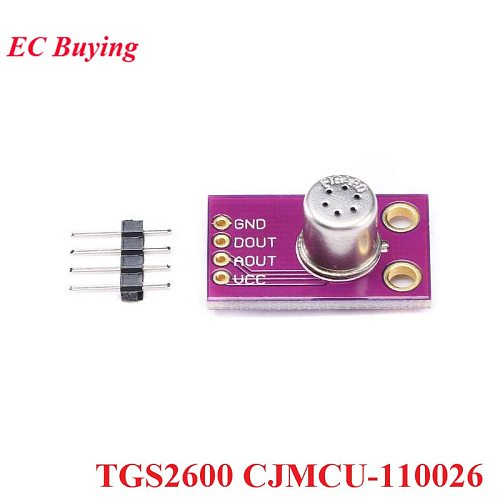 TGS2600 Air Quality Gas Sensor Module CJMCU-110026 Sensors Air Contaminants  Detecting Hydrogen Carbon Monoxide CO