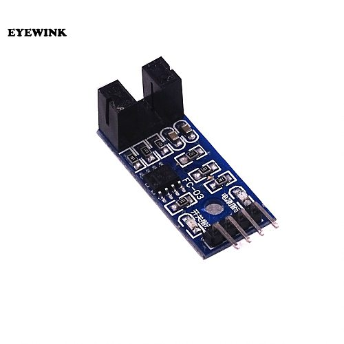 100PCS Speed Sensor Module Tacho Sensor 3.3V-5V Slot-type Optocoupler Tacho-generator Counter Module for Arduino /PIC Diy Kit