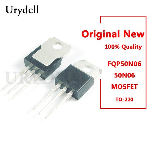 10pcs FQP50N06 50N06 N-Channel Power MOSFET TO-220 New and Original