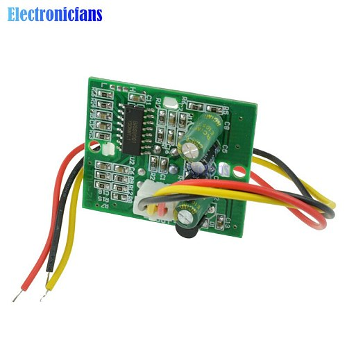 PIR IR Infrared Pyroelectric IR PIR Motion Sensor Detector Module DC 12V