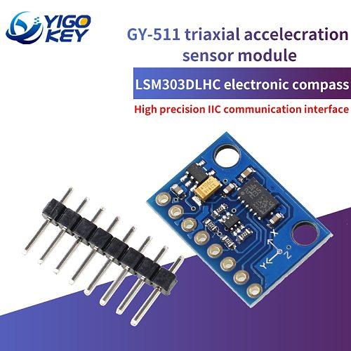 YIGO KEY GY-511 LSM303DLHC Module E-Compass 3 Axis Accelerometer 3 Axis Magnetometer Module Sensor GY511