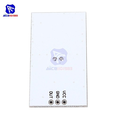 diymore LFS-DC04 2.7GHz 5-8m Microwave Radar Module DC 5V 360 Degree High Level Signal Output Board