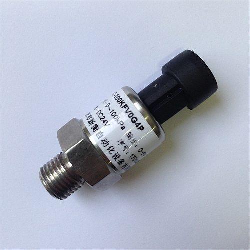 Silicon Core Body Vacuum Negative Pressure Sensor Vacuum Negative Pressure Transmitter -100kpa~0 ,0-5V 4-20mA G1/4 Gas Sensor