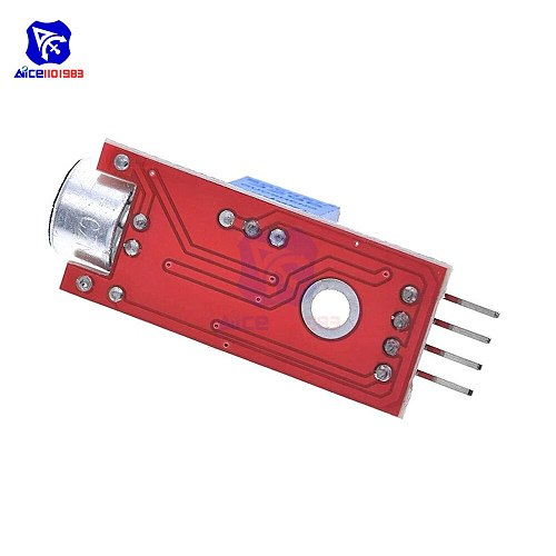 diymore 2PCS/Lot High Sensitive Microphone Sound Sensor Detection Module for Arduino AVR PIC 5V DC