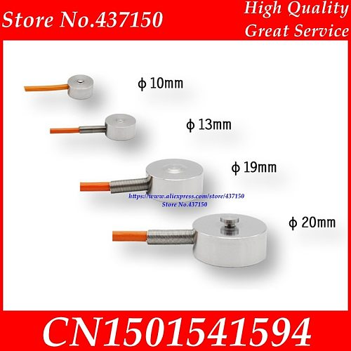 High precision manipulator button type micro pressure sensor module  weighing Miniature load cell phone 10mm weight sensor