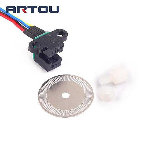 Photoelectric Speed Sensor Encoder Coded Disc Code Wheel For Freescale Smart Car 5V
