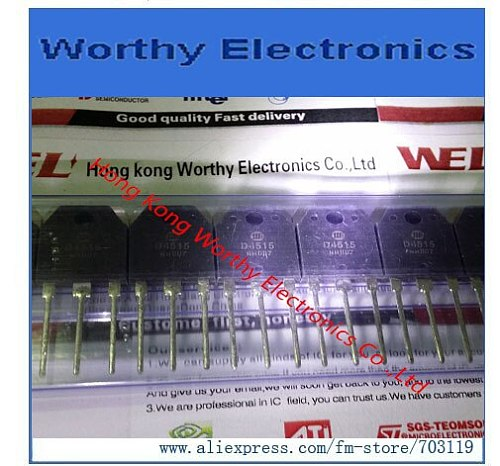 Free   shipping   10PCS/LOT      D4515      TO-3P