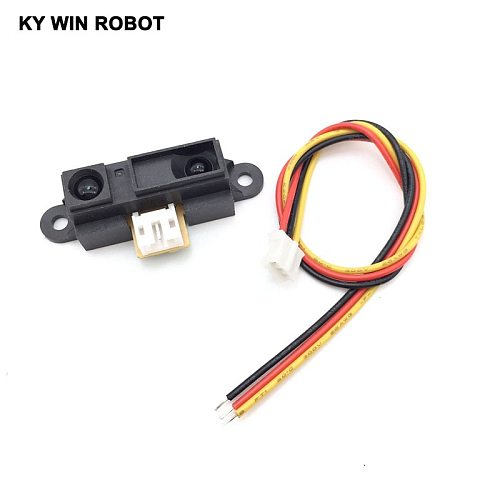 IR Sensor GP2Y0A21YK0F Measuring Detecting Distance Sensor 10 to 80cm with Cable for Arduino