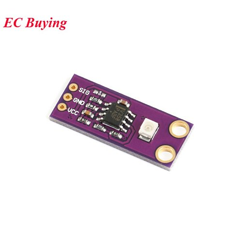 GUVA-S12SD UV Detection Sensor Module S12SD Light Solar Ultraviolet 240nm-370nm For Arduino DIY Kit Electronic PCB Board