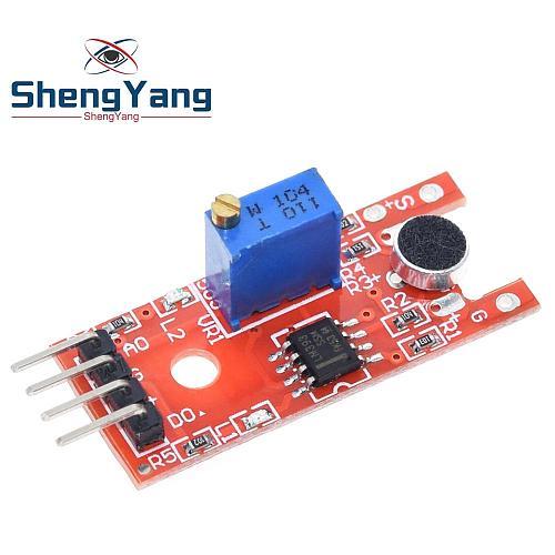 ShengYang Microphone Voice Sound Sensor Module For Arduino Analog Digital Output Sensors KY-038