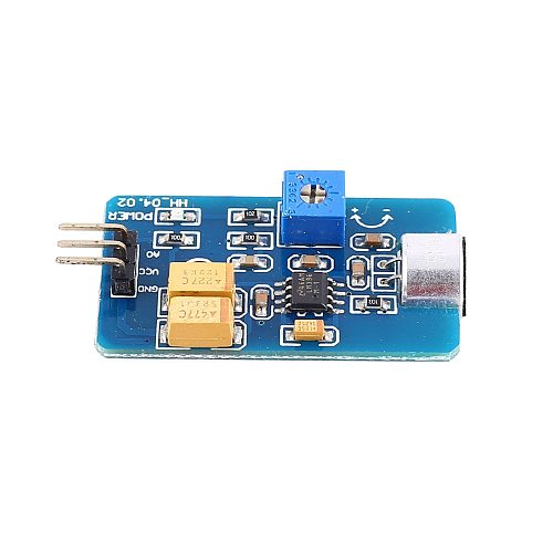 For Arduino Sound Sensor Audio Output Volume Monitor MIC Detecter Adjustable Noise Detecter 5V