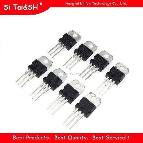 10value*5PCS=50PCS LM317T L7805 L7806 L7808 L7809 L7810 L7812 L7815 L7818 L7824 Transistor Assortment Kit Voltage Regulator Box