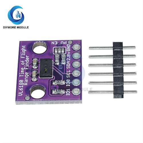 VL6180 VL6180X Range Finder Optical Ranging Sensor Module I2C 3.3V-5V for ALS Distance Sensor Detect for Arduino