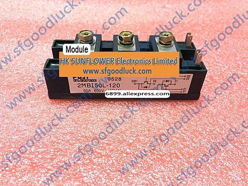 2MBI50L-120 Transistor IGBT Module N-CH 1200V 50A CASE M218 mass:185g Free Shipping
