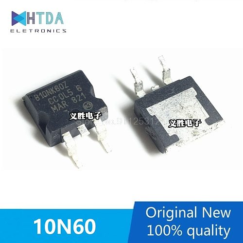 5pcs/lot TO-263 B10NK60Z 10N60 FQD10N60C 10N60C In Stock