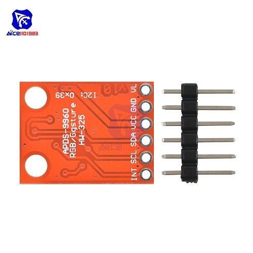 diymore APDS-9930 RGB Sensor Gesture Board APDS-9930 Proximity Sensor Module for Arduino