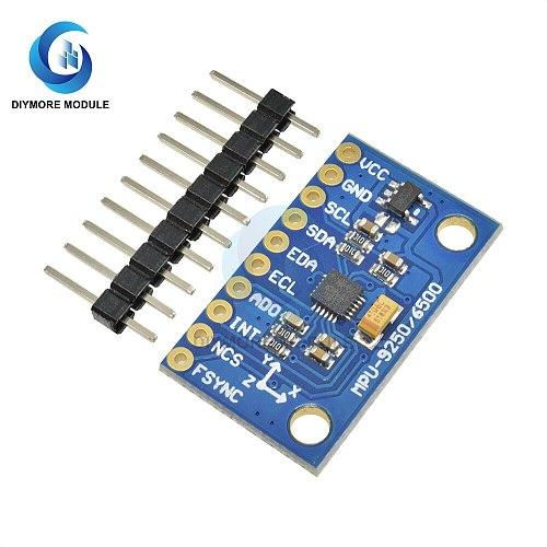 MPU9255 Triple Axis Gyroscope Accelerator Magnetometer Sensor Module IIC I2C Interface For Arduino