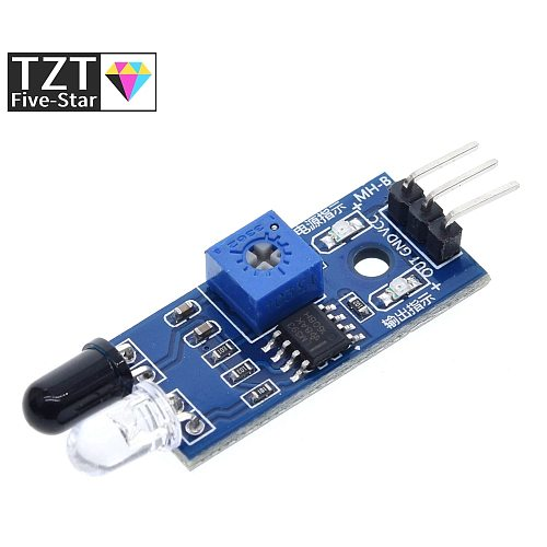 Smart Electronics Smart Car Robot Reflective Photoelectric 3pin IR Infrared Obstacle Avoidance Sensor Module for arduino Diy Kit