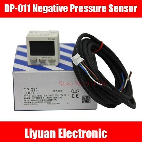 1pcs Digital Vacuum Pressure Gauge DP-011 Negative Pressure Sensor -100-+100KPA