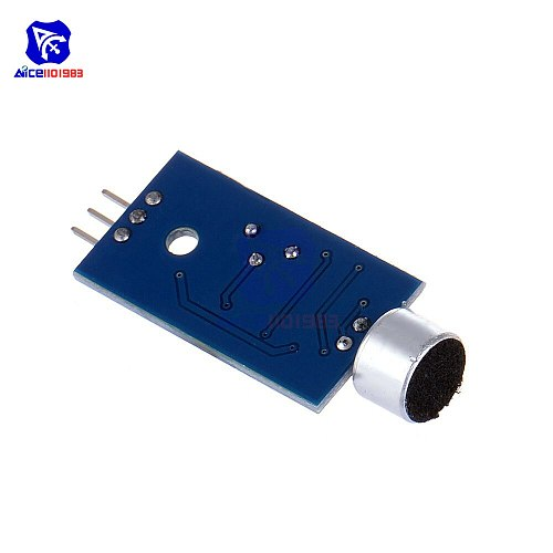 diymore Microphone Sensor AVR PIC High Sensitivity Sound Detection Module LM393 Dual Differential Comparators Output for Arduino