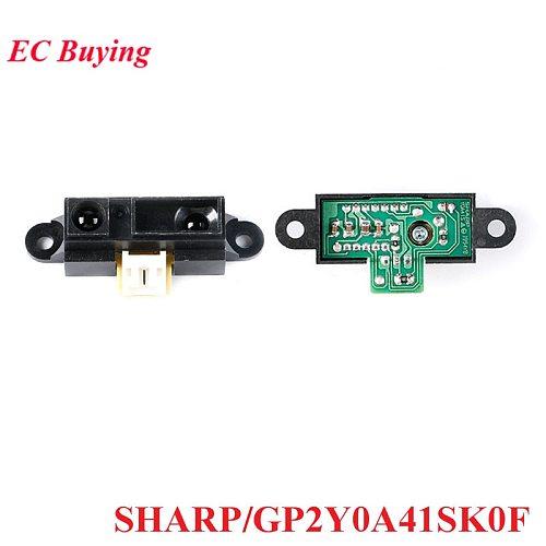 GP2Y0A41SK0F IR Infrared Ranging Sensor Module SHARP 4-30cm Distance Measuring Sensors 5V for Arduino