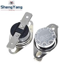 ShengYang KSD301 250V 10A Normally Closed NC Thermostat Temperature Thermal Control Switch DegC 40C-135C For Arduino