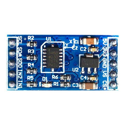 Glyduino ADXL345 IIC /SPI Digital Acceleration of Gravity Tilt Sensor Module for Arduino