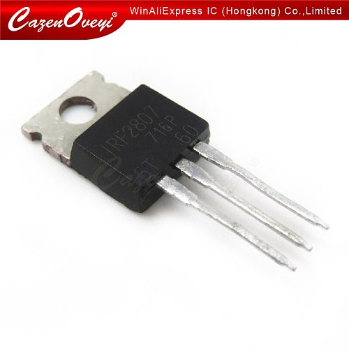 10pcs/lot IRF2807PBF TO-220 IRF2807 TO220 new MOS FET transistor In Stock