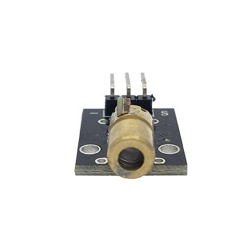 KY-008 650nm Laser Sensor Module 6mm 5V 5mW Red Dot Diode Copper Head for Arduino