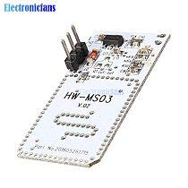 HW-MS03 High Performance Motion Sensor 2.4GHz to 5.8GHz Microwave Radar Human Body Induction PIR Switch Module for Arduino Diy