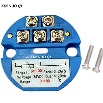 RTD PT100 SBW Temperature Sensor Meter Temperature Transmitter Isolated Detector Module 0~200 Degree 4-20MA