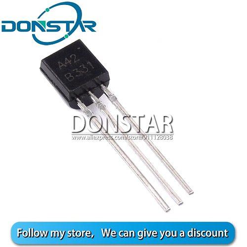 50PCS KSP42 MPSA42 A42 TO92 TO-92 NPN Triode Transistor New And Original