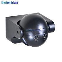 220-240V 50Hz AC 180 degree Auto PIR Motion Sensor Detector Switch 12 Meter Outdoor Light Lamp Switch Black