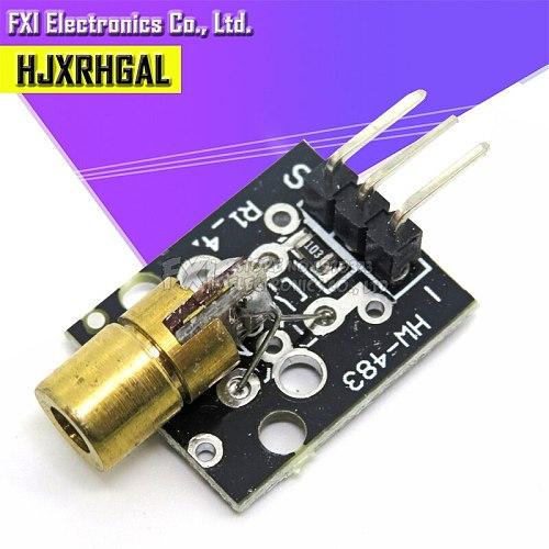 1PCS KY-008 650nm Laser sensor Module 6mm 5V 5mW Red Laser Dot Diode Copper Head for  new