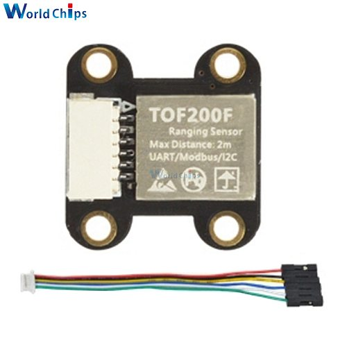 TOF050F TOF200F TOF400F Laser Range Sensor Module 50cm/2M/4M Distance I2C IIC Interface Serial Port Modbus For Arduino/Robot