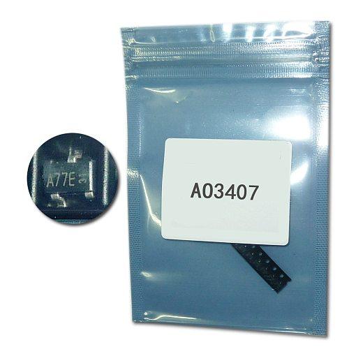 100pcs/Lot AO3407 MOSFET SMD transistor SOT23 P-channel FET  4.3A/30V AO3407 A79T