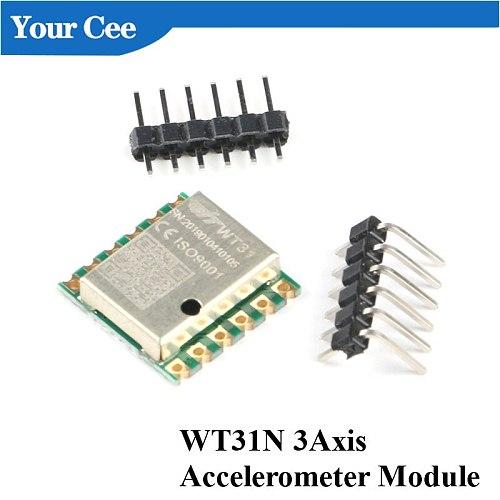 WT31N AHRS 2 3 Axis Digital Accelerometer Tilt Angle Attitude Sensor Module Inclinometer IIC I2C 3.3V 5V Serial TTL For Arduino