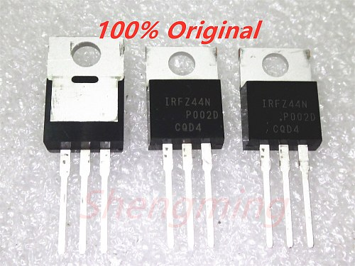 10PCS 100% original IRFZ44N IRFZ44 TO-220