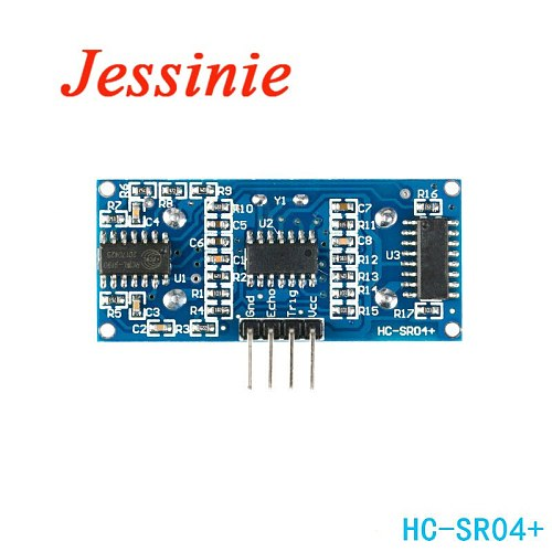 HC-SR04 Plus Ultrasonic Sensor Module HC-SR04+ for Arduino Ultrasonic Distance Measuring Board 3.3V 3.5V Electronic DIY PCB